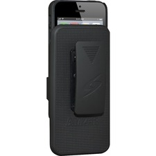 Amzer Shellster Carrying Case (Holster) for iPhone - Black