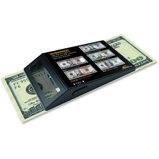 RCDUVP2 ultraviolet portable counterfeit detector detects fake bills and ID's.