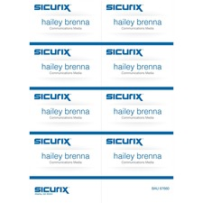 BAU 67660 Baumgartens Sicurix Printable Badge Inserts BAU67660