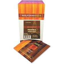 Wolfgang Puck Wolfgang Puck French Roast Coffee Pod Pod - Regular - Spicy, Caramel, French Roast - Dark/Bold