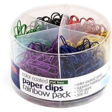 OIC 97227 Officemate Coated Paper Clips Tub OIC97227
