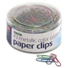 OIC 97225 Officemate Coated Paper Clips Tub OIC97225