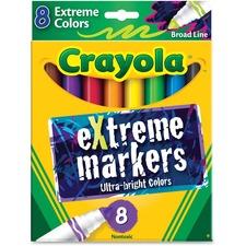 CYO 588175 Crayola Ultra Bright eXtreme Markers CYO588175