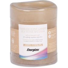 EVE TVS1DL052 Energizer 75 Hour Flameless LED Wax Candles  EVETVS1DL052