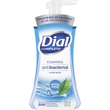 DIA 05401 Dial Corp. Dial Compl. Spring Water Foaming Soap DIA05401