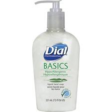 DIA 06028 Dial Corp. Basics HypoAllergenic Liquid Hand Soap DIA06028