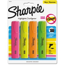 SAN 1825633 Sanford Sharpie Smear Guard Blade Highlighters SAN1825633