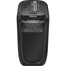 "Fellowes Powershred® 60Cs Cross-Cut Shredder - Non-continuous Shredder - Cross Cut - 10 Per Pass - for shredding Staples, Credit Card, Paper Clip, Paper - 0.156"" x 1.560"" Shred Size - P-4 - 14 ft/min - 8.75"" Throat - 6 Minute Run Time - 20 Minute Cool Down Time - 6 gal Wastebin Capacity - Black"