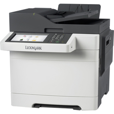Lexmark CX510DE Laser Multifunction Printer - Color - Plain Paper Print - Desktop