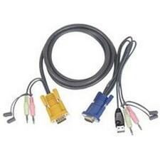 ATEN 6 FT KVM USB Cable with Audio