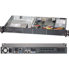 Supermicro SYS-5017A-EF SuperServer 5017A-EF (Black)