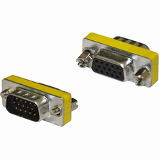 4XEM VGA HD15 Male To Female Adapter