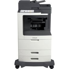 Lexmark MX810DFE Laser Multifunction Printer - Monochrome - Plain Paper Print - Desktop