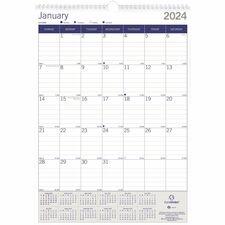 RED C171203 Rediform DuraGlobe Wall Calendar REDC171203