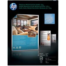 HEW D0Z55A HP Premium Inkjet Matte Presentation Paper HEWD0Z55A