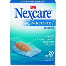 MMM 58620PB 3M Nexcare Waterproof Bandages MMM58620PB