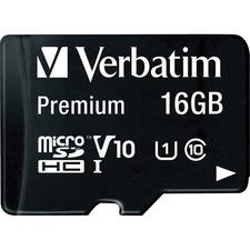 VER 44082 Verbatim microSDHC Adapter Memory Card  VER44082