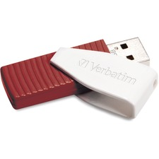 Verbatim 16GB Store 'n' Go® Swivel USB Drive - Red