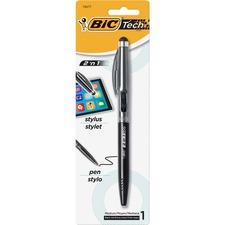 BIC BPSTP11SBK Bic Lightweight 2-in-1 Stylus Ball Pen BICBPSTP11SBK