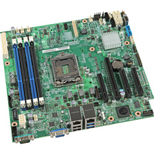 Intel S1200V3RPL Server Motherboard - Intel C224 Chipset - Socket H3 LGA-1150 - 5 Pack