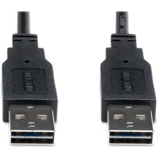 TRP UR020003 Tripp Lite Universal Rev. USB 2.0 Hi-Speed Cable TRPUR020003