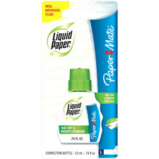 PAP 5640415 Paper Mate Liquid Paper Fast Dry Correction Fluid PAP5640415
