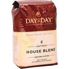 PapaNicholas Coffee Coffee, Ground, 33oz., Day To Day House Blend Ground - Caffeinated - Day To Day House Blend