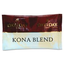 PapaNicholas Day To Day Kona Blend Coffee Pot Pack - Compatible with Drip-coffee Brewer - Regular - Day To Day Kona Blend - 42 / Box