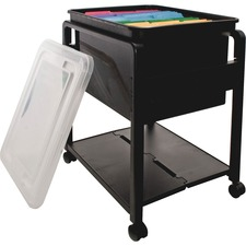 AVT 55758 Advantus Folding Mobile Filing Cart AVT55758