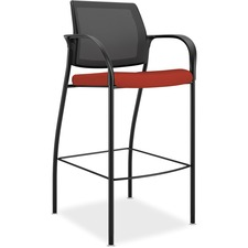 HON IC108CU42 HON Mesh Back Cafe Height Stools HONIC108CU42