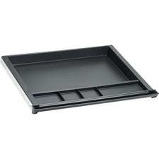 LLR 81953 Lorell 5-Comp Plastic Center Drawer LLR81953