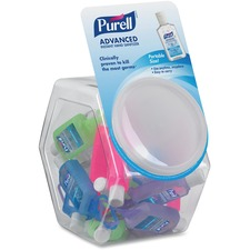 GOJ 390025BWL GOJO Purell Hand Sanitizer Jelly Wrap Display Bowl GOJ390025BWL