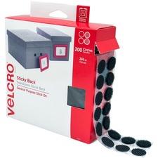 VEK 91823 VELCRO Brand Sticky Back Round Coin Tape VEK91823
