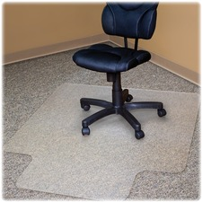 Advantus Gripper Cleats Recycled Chairmat with Lip