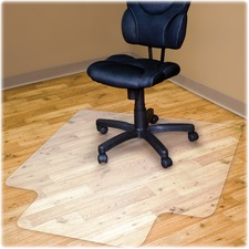 Advantus Hard Floor Recycled Chairmat with Lip