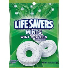 MRS 08504 Mars Life Savers Mints Wint O Green Hard Candies MRS08504