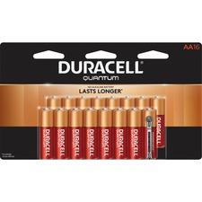 DUR QU1500B16Z Duracell Quantum AA Batteries DURQU1500B16Z