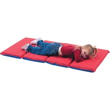 CFI 400525RB Children's Fact. 4-Fold Infectn Control Rest Mats CFI400525RB
