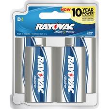 RAY 8134F Rayovac Alkaline D Batteries RAY8134F