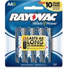 RAY 8158CF Rayovac Alkaline AA Batteries RAY8158CF