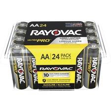 RAY ALAA24F Rayovac Ultra Pro Alka AA24 Batteries Storage Pak RAYALAA24F