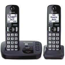PAN KXTGD222N Panasonic Expandable Digital Cordless Answ. System PANKXTGD222N