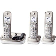 PAN KXTGD223N Panasonic KXTGD223N Digital Cordless Answ. System PANKXTGD223N