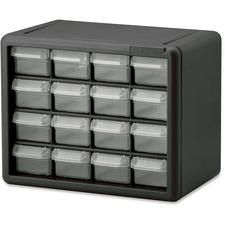AKM 10116 Akro-Mils 16-Drawer Plastic Storage Cabinet AKM10116