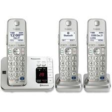 PAN KXTGE263S Panasonic Link2cell Expndbl Cordless Phone System PANKXTGE263S