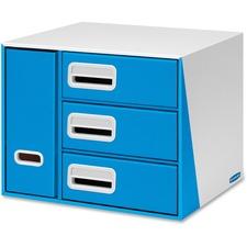 FEL 7648601 Fellowes Premier 3-Drawer Bin Organizer FEL7648601