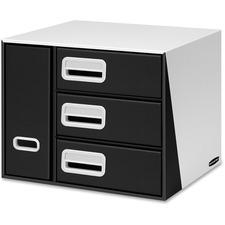 FEL 7648001 Fellowes Premier 3-Drawer Bin Organizer FEL7648001
