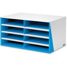 FEL 7649401 Fellowes Bankers Box 8-Compartment Sorter FEL7649401
