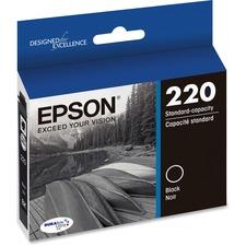 Epson DURABrite Ultra T220120 Ink Cartridge - Black - Inkjet - Standard Yield - 175 Pages - 1 / Each