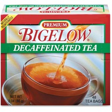 BTC 00356 Bigelow Premium Blend Decaffeinated Black Tea BTC00356